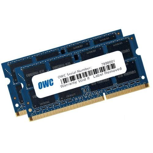 OWC 16GB (2 x 8GB) 1867 MHZ DDR3 SO-DIMM PC3-14900 204 Pin CL11 Memory Upgrade by OWC