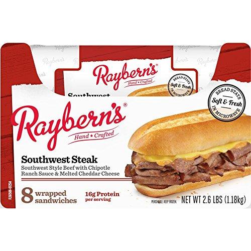 Raybern's Southwest Steak Sandwich, 8 per case
