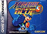 Megaman Battle Network 3 - Blue GBA Instruction Booklet (Game Boy Advance Manual only) (Nintendo Game Boy Advance Manual)
