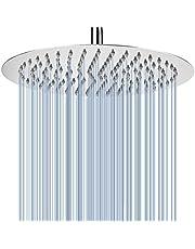12 Inch grote regendouchekop, roestvrij stalen douchekop met 143 gat, krachtige hoge druk Top Spray badkamer regendouche