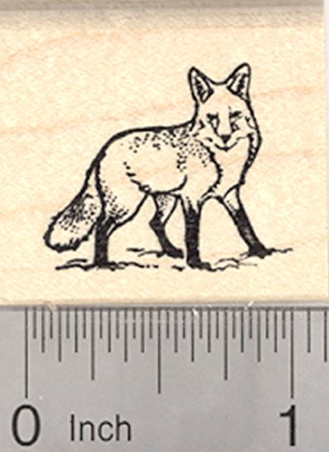 Fox Rubber Stamp, Small