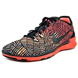 Nike Women's Free 5.0 TR Fit 5 Print Training Shoe Black/Crimson/Atomic Pink Size 7.5 M US