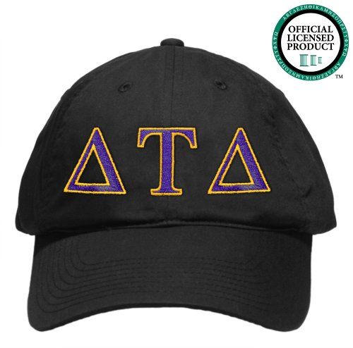Delta Tau Delta (DTD) Embroidered Nike Golf Hat, Various Colors