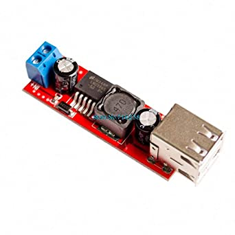 DC 6V-40V To 5V 3A Double USB Charge DC-DC Step-down Konverter Module LM2596