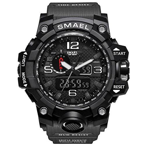 Meetloveyou Men Sports Watches Dual Display Analog for sale  Delivered anywhere in USA