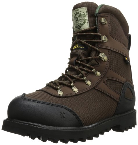 8' Insulated Hunting Boots - Wood n' Stream Men's 1005 Interceptor Boot,Brown,9.5 W US