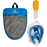EASYBREATH Innovation Snorkelling Mask (Blue, S/M) by TRIBORD