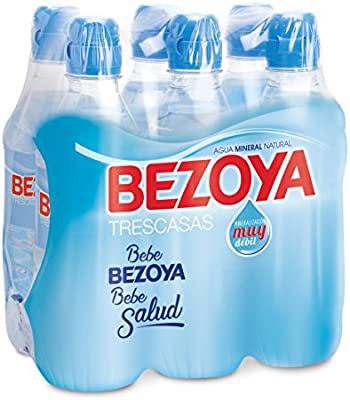 Bezoya - Agua Mineral Natural - Pack 6 x 50 cl, Tapón Sport ...