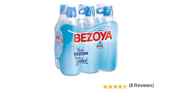 Bezoya Agua - Paquete de 6 x 500 ml - Total: 3000 ml: Amazon.es ...