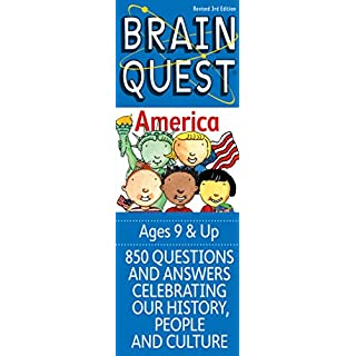 Brain Quest America: 850 Questions and Answers to Challenge the Mind. Teacher-approved! (Brain Quest Decks)