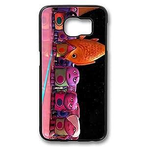 Samsung S6 Case, Galaxy S6 Case - Shock-Absorption Black Hard Case for Samsung Galaxy S6 Home Stills Anti-Scratch Hard Back Case for Samsung Galaxy S6