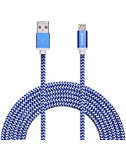 Zoresyn 3m/10ft Lightning Cable Apple MFi Certified Lightning to USB Cable Sync Cord Data line for iPhone