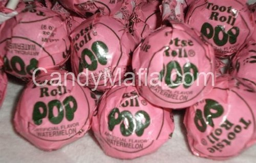 Watermelon Tootsie Pops 30 pops -