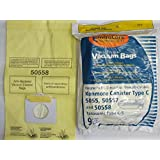 Vacuum Cleaner Bags 36 Kenmore Vacuum Bags 5055 50557 50558 Panasonic C-5 BRAND NEW SEALED PRODUCT!