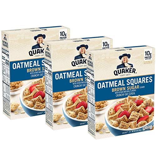 Quaker Oatmeal Squares Breakfast