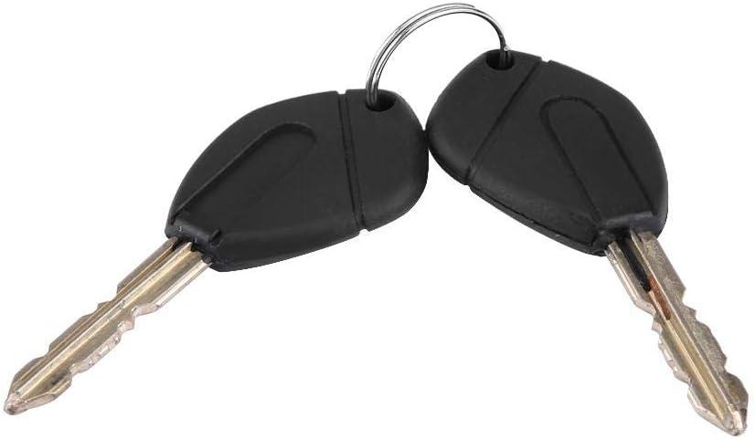 barillet de serrure de porte de voiture 252522 avec cl/és pour partenaire Berlingo Xsara Serrure de porte automatique #1