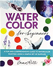 Watercolor For Beginners: A Fun and Comprehensive Guide to Watercolor Painting Using a Simple Set of Supplies (Studio)