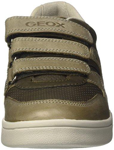 Geox J Djrock B, Zapatillas Para Niños Verde (Military)