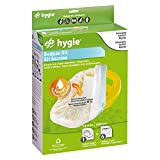 Hygie Bedpan Kit with Hygienic Covers with Super-Absorbent Pad