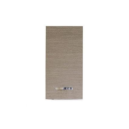 Pensile per cucina componibile larice grigio Cm 40x30xH 72 1 anta ...