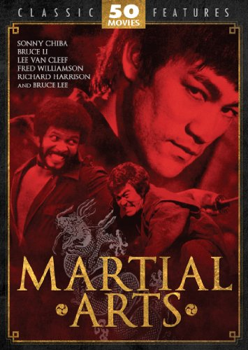 Martial Arts 50 Movie Pack: Black Cobra - The Black Godfather - The Master - The Real Bruce Lee - The Street Fighter - TNT Jackson - Ninja Death - -