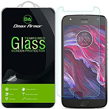 [2-Pack] Dmax Armor- Motorola Moto X4 / Moto X (4th Generation) [Tempered Glass] Screen Protector with Lifetime Replacement Warranty