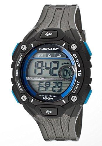 Dunlop DUN-201-G03 - Reloj Digital Para Hombre, color LCD/Negro: Amazon.es: Relojes