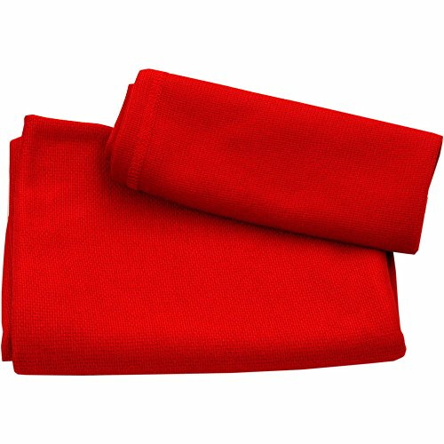 Ultra Fast Dry Travel and Sports Towel. High Tech Better than Microfiber.  Compact Quick Dry Lightweight Antibacterial Towels. 8 Colors, 3 Sizes. Top Gear  Reviews.