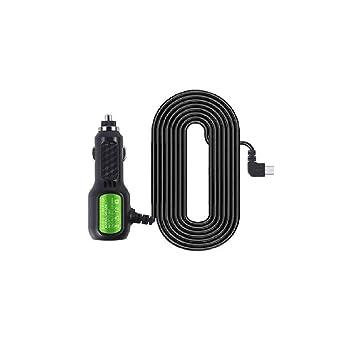 Cargador de Coche Mini USB Cable 3,5 Metros para Dash CAM ...