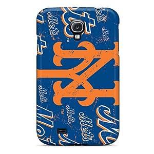 KerryParsons Samsung Galaxy S4 Protective Hard Phone Cases Custom Vivid New York Mets Skin [AdN18983qqVB]