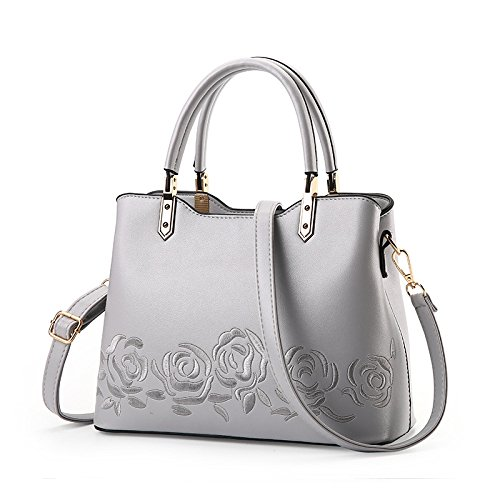 Embroidery Temperament B Crossbody Ms JPFCAK Handbag Handbag Bag Bags Rose Fashion Shoulder x8qCwCzP