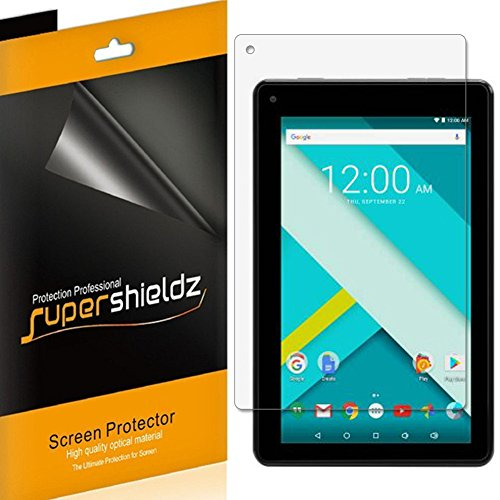 [3-Pack] Supershieldz- Anti-Bubble High Definition Clear Screen Protector for RCA Voyager III 7