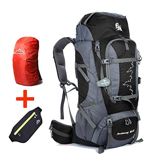 9d7e6344d7 Hiking BackPack Coco 85L Inner Frame Detachable Shoulder Strap Waterproof  Outdoor Sports Backpack