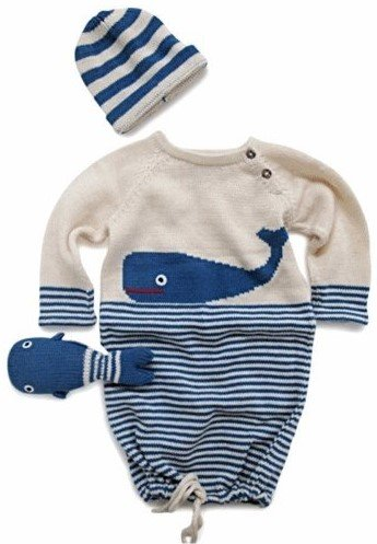 Organic Baby Gift Whale Themed by Estella (Image #1)