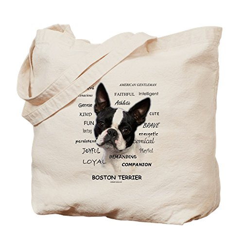 Terrier Is: - Natural Canvas Tote Bag, Cloth Shopping Bag ()
