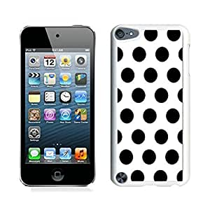 good review Polka Dot White and Black iPod touch 5 Case White Cover