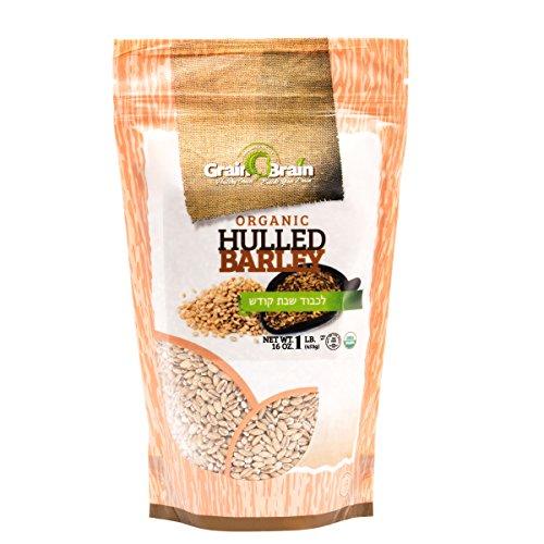Grain Brain Organic Hulled Barley (1 lb)