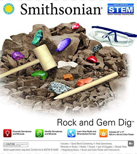 (Smithsonian Rock and Gem Dig)