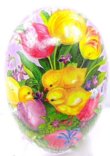 Easter Egg Treat Filling Container,baby Chicks,Easter Eggs,tulips,purple,6
