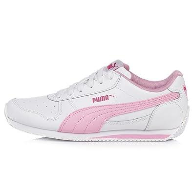 Puma , Baskets pour Femme Blanc Bianco, 38 EU: