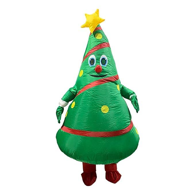 wenjuersty - Árbol de Navidad Hinchable para Adultos, diseño ...