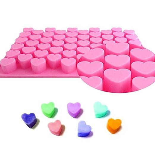 ABTP Moldes de silicona para chocolate, jabón y jabón, bandeja ...
