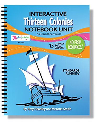 Download Thirteen Colonies Interactive Notebook Unit (THIRTEEN Colonial America Lessons!) PDF