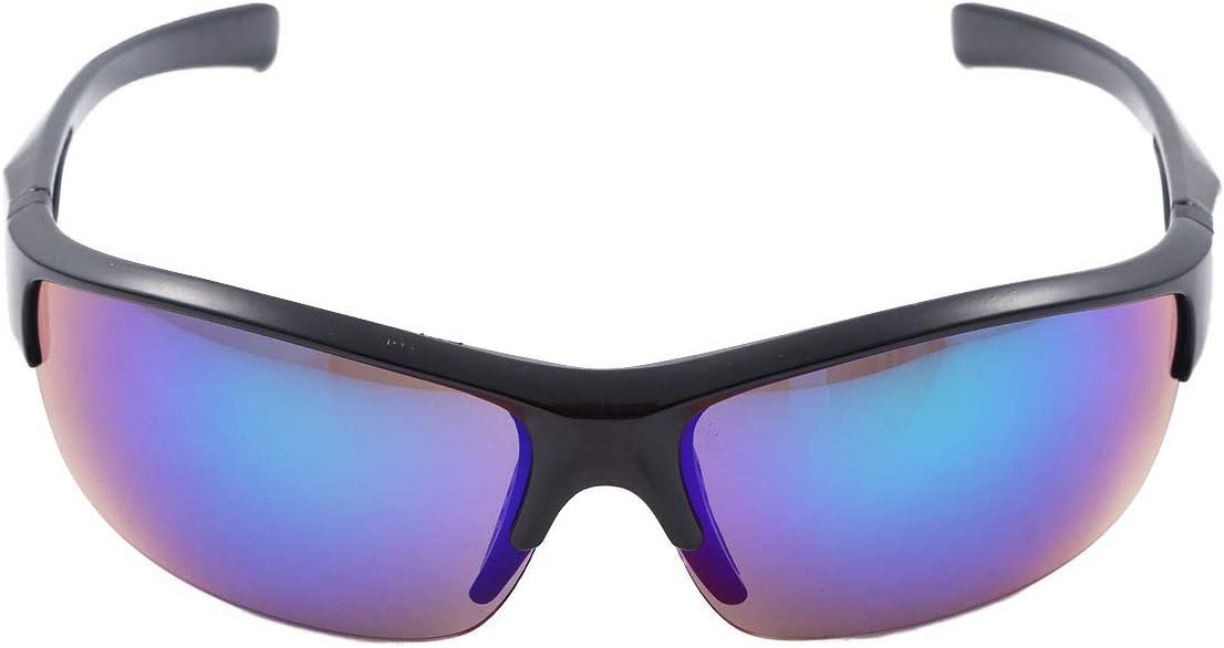 Inhzoy Gafas de sol deportivas de moda UV 400 Gafas de protección solar con marco ligero para hombres mujeres jóvenes ciclismo pesca conducción golf