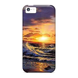 Quality GunsRoses Case Cover With Romance Of The Sea Nice Appearance Compatible With Iphone 5c