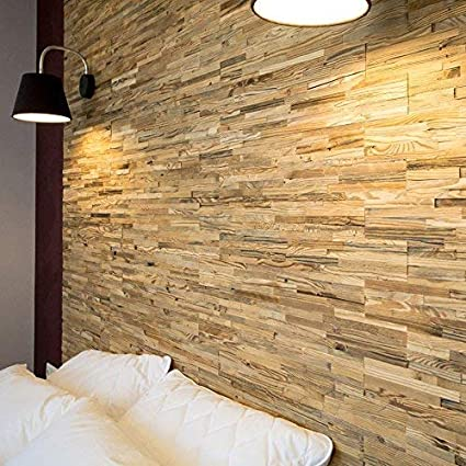 Wooden Wall Design Wall Panel Brut Decorative Wood Tiles For