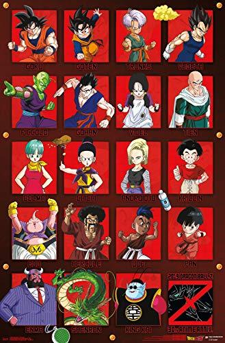 Dragon Ball Z - Anniversary Wall Poster 22.375