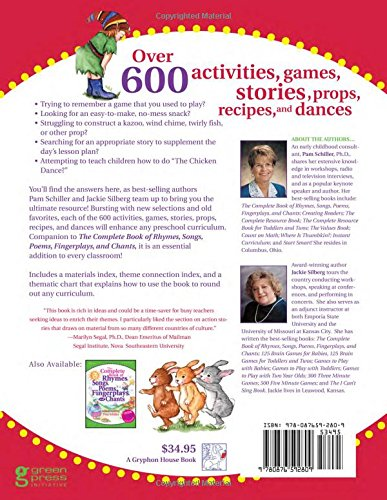 The Complete Book of Activities, Games, Stories, Props, Recipes ...
