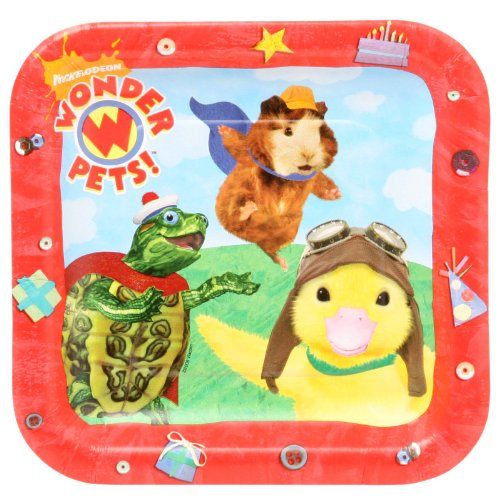 Wonder Pets Dessert Plates (8) Party Supplies -