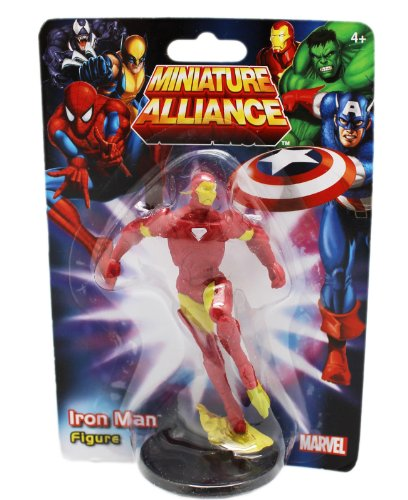 "Price comparison product image Marvel Avengers Alliance Iron Man 2""- 3"" Cake Topper Figurine"